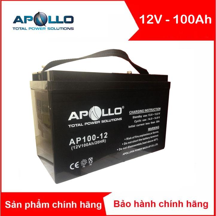 Ăc quy APOLLO AP100-12 12V-100Ah