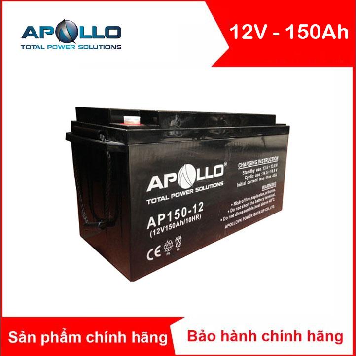 Bình ắc quy kín khí APOLLO 12V-150AH (AP150-12)