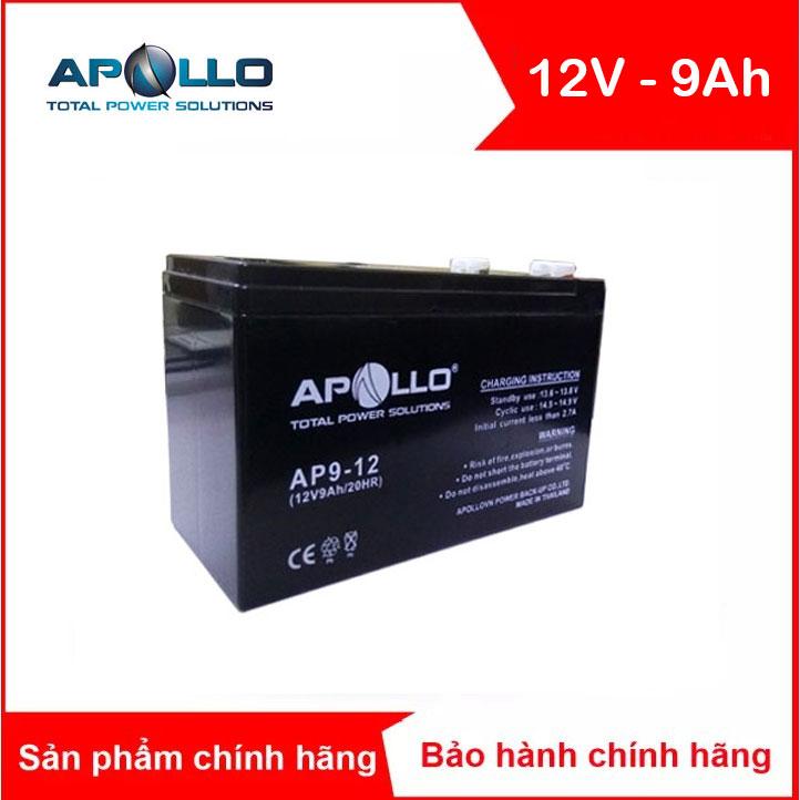 Bình ắc quy kín khí APOLLO 12V-9AH (AP9-12)