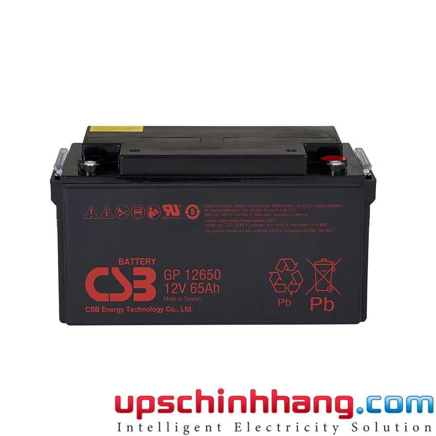 Ắc quy CSB GP12650 12V 65Ah