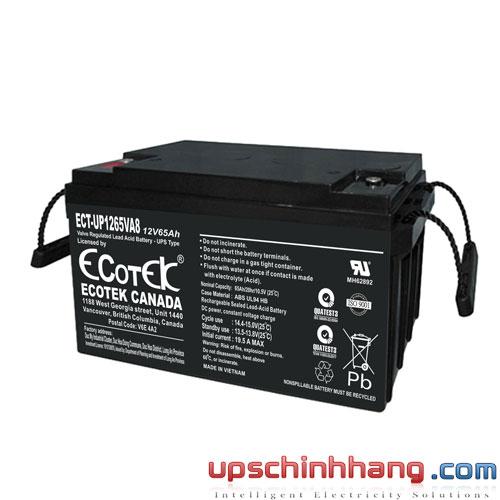 Ắc quy ECOTEK 12V-65Ah (ECT-UP1265VA8)