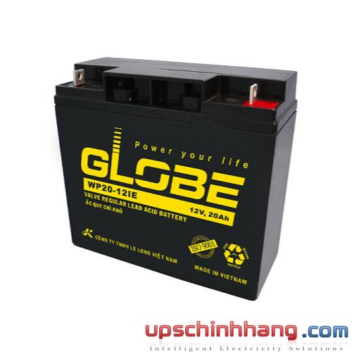 Bình ắc quy kín khí Globe 12V-20Ah (WP20-12IE)