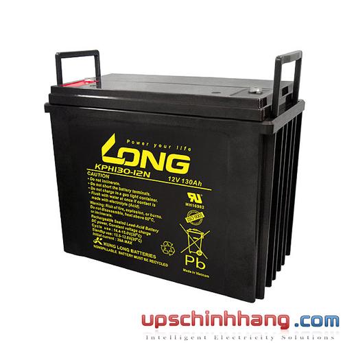 Bình ắc quy kín khí Long 12V-130Ah (KPH130-12N)