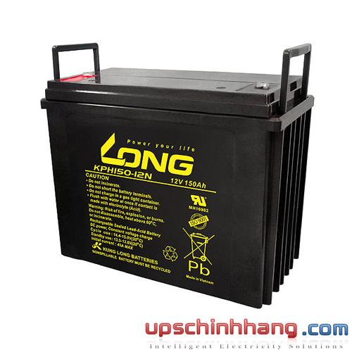 Bình ắc quy kín khí Long 12V-150Ah (KPH150-12N)