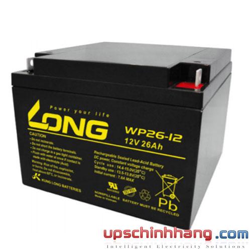 Bình ắc quy kín khí Long 12V-26Ah (WP26-12)