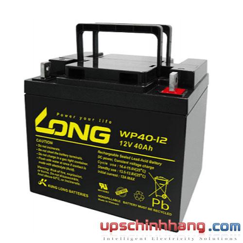 Bình ắc quy kín khí Long 12V-40Ah (WP40-12)