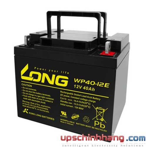 Bình ắc quy kín khí Long 12V-40Ah (WP40-12E)