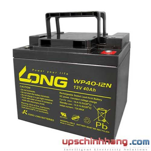 Bình ắc quy kín khí Long 12V-40Ah (WP40-12N)