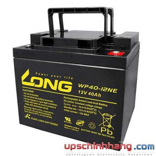Bình ắc quy kín khí Long 12V-40Ah (WP40-12NE)