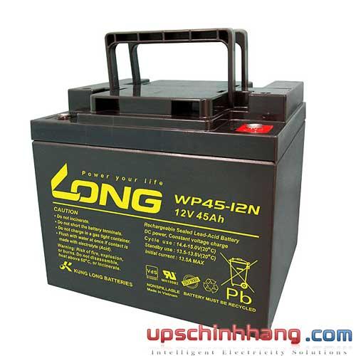 Bình ắc quy kín khí Long 12V-45Ah (WP45-12N)