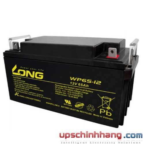 Bình ắc quy kín khí Long 12V-65Ah (WP65-12)