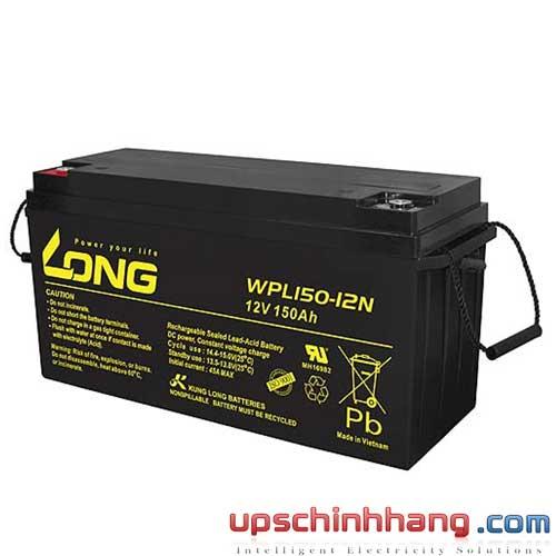 Bình ắc quy kín khí Long 12V-150Ah (WPL150-12N)