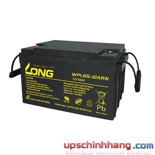 Bình ắc quy kín khí LONG 12V-65Ah (WPL65-12ARN)