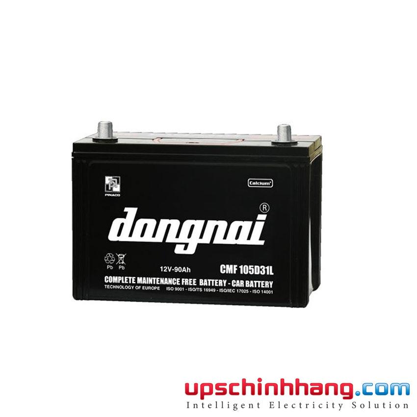 Ắc quy (Khởi Động) PINACO DONGNAI 12V-90Ah, CMF 105D31L