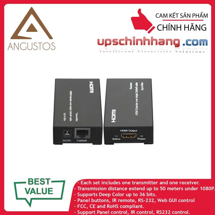 ANGUSTOS KVE805 - HDMI Extender Over Cat5e/Cat6