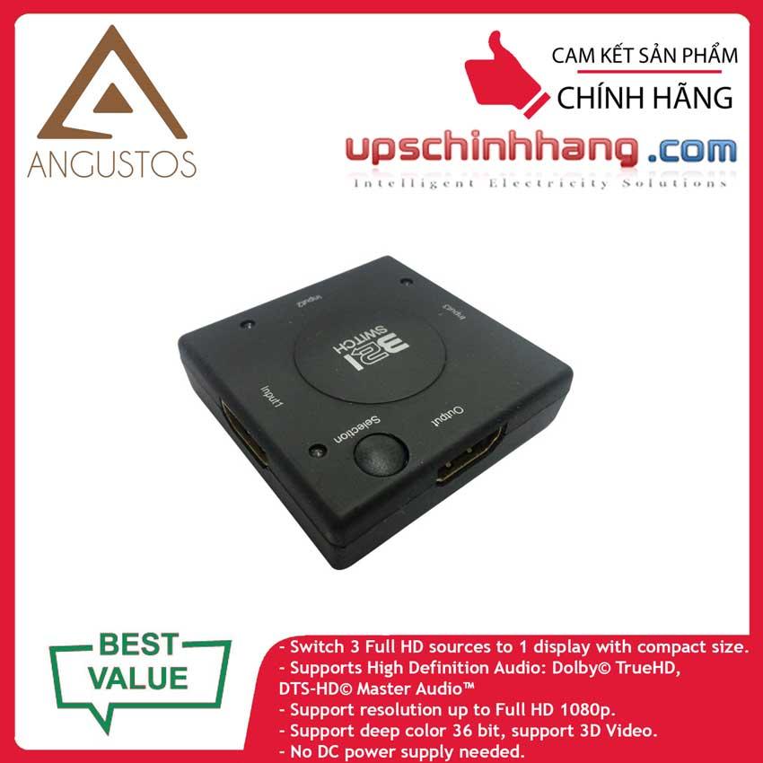 ANGUSTOS KVS0301M - HDMI Switch Mini 3 x 1