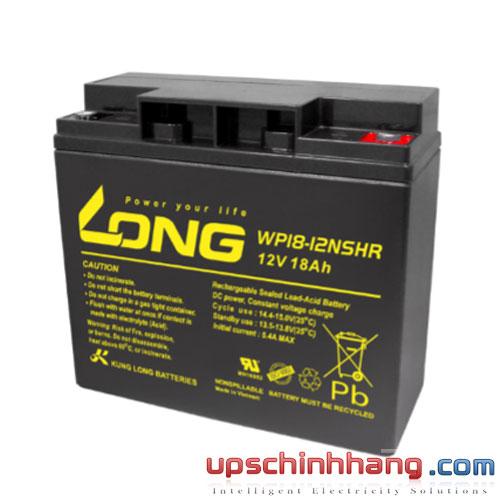 Bình ắc quy kín khí Long 12V-18Ah (WP18-12NSHR)