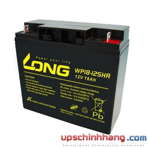Bình ắc quy kín khí Long 12V-18Ah (WP18-12SHR)