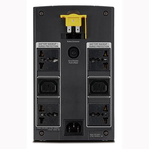 mặt sau UPS BX1100LI-MS