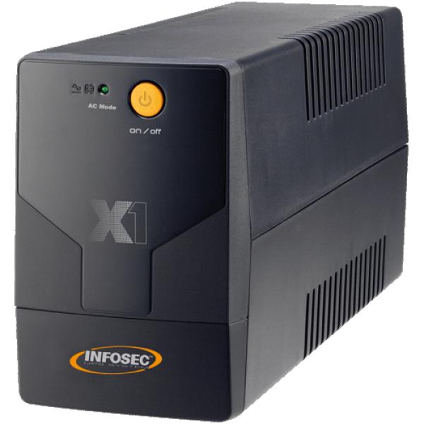 UPS INFOSEC X1 EX USB 700VA