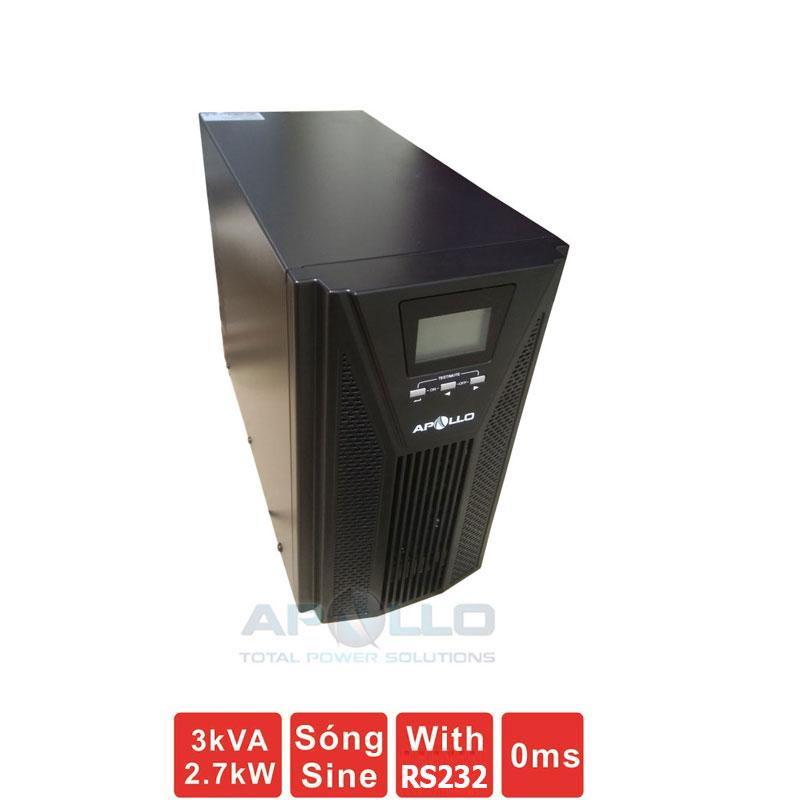 Bộ lưu điện (UPS) APOLLO AP9103S 3KVA (2700W) True Online