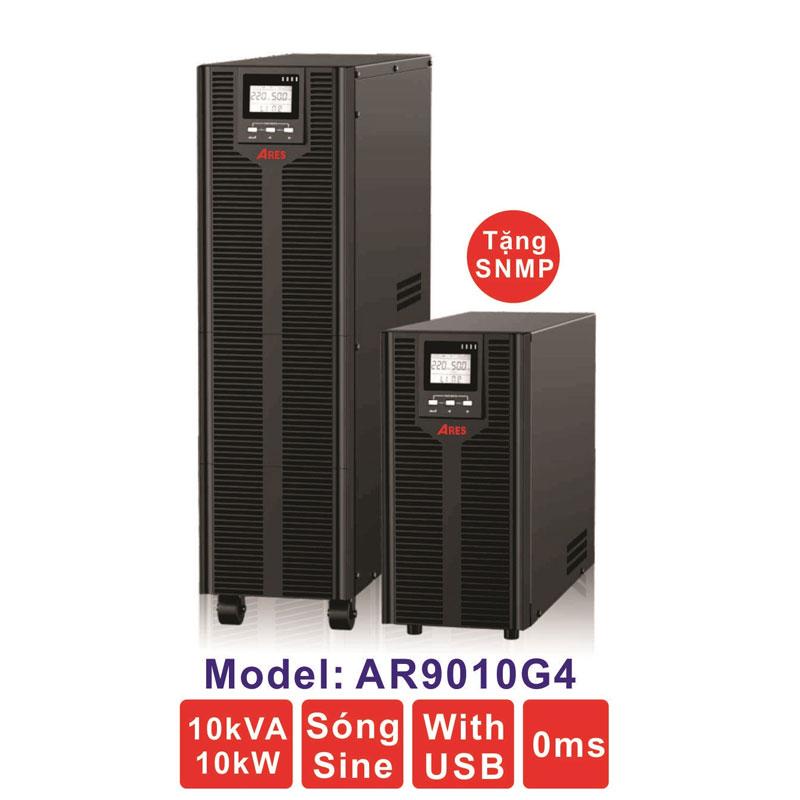 Bộ lưu điện (UPS) ARES AR9010G4 10KVA (10KW) True Online