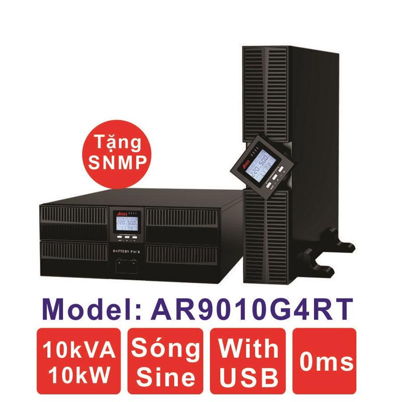 Bộ lưu điện (UPS) ARES AR9010G4RT 10KVA (10KW) True Online