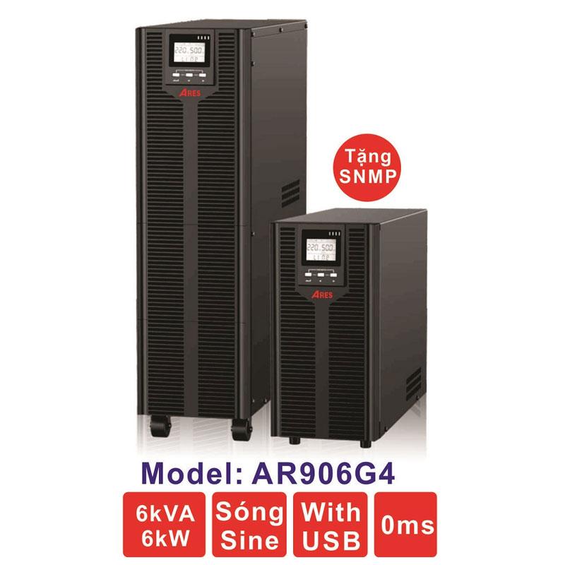 Bộ lưu điện (UPS) ARES AR906G4 6KVA (6KW) True Online