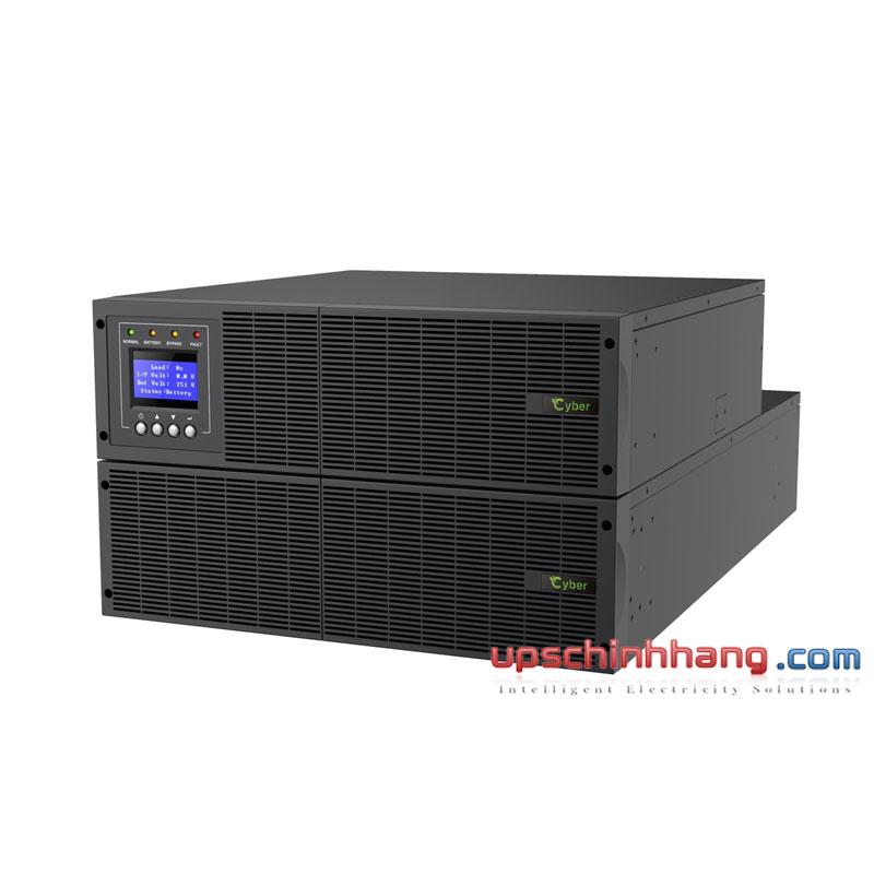 Bộ lưu điện (UPS) CYBER Platinum+6000RT 6KVA