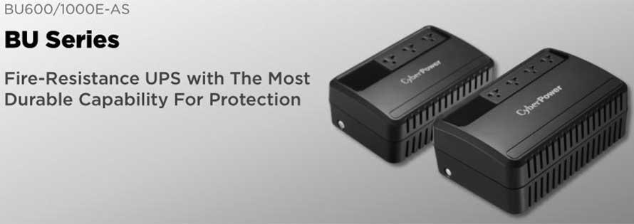 bộ lưu điện CyberPower BU600E/BU1000E