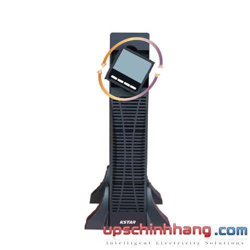 Bộ lưu điện KSTAR UDC9101S-RT 1KVA Online Rackmount