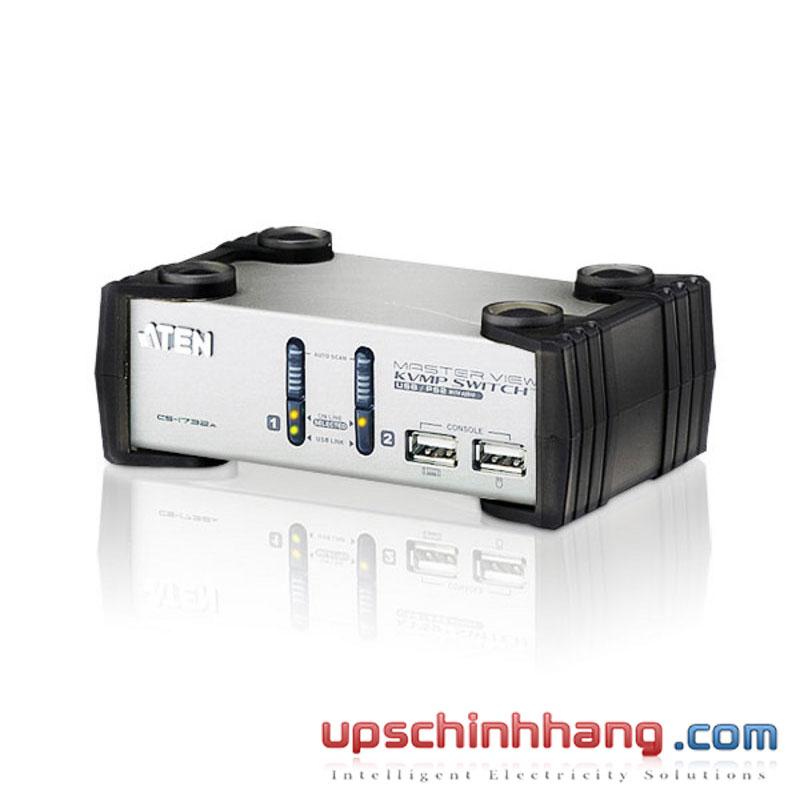 ATEN CS1732A - 2-Port PS/2-USB VGA/Audio KVMP™ Switch