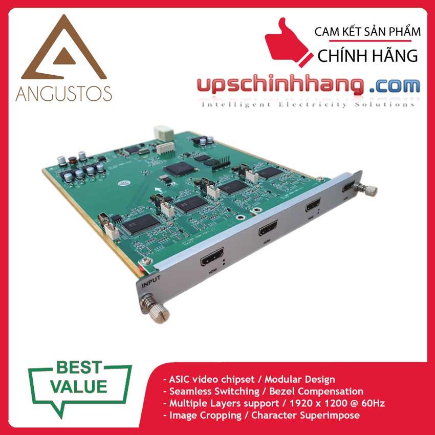 ANGUSTOS AVW4-CIN-4H - Video Wall HDMI Input Card Multi Layers