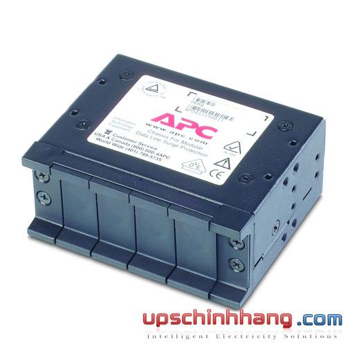 Khay gắn Module chống sét lan truyền APC (PRM4) 4 cổng, 1U