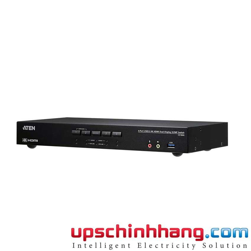 ATEN CS1844 - 4-Port USB 3.0 4K HDMI Dual Display KVMP™ Switch