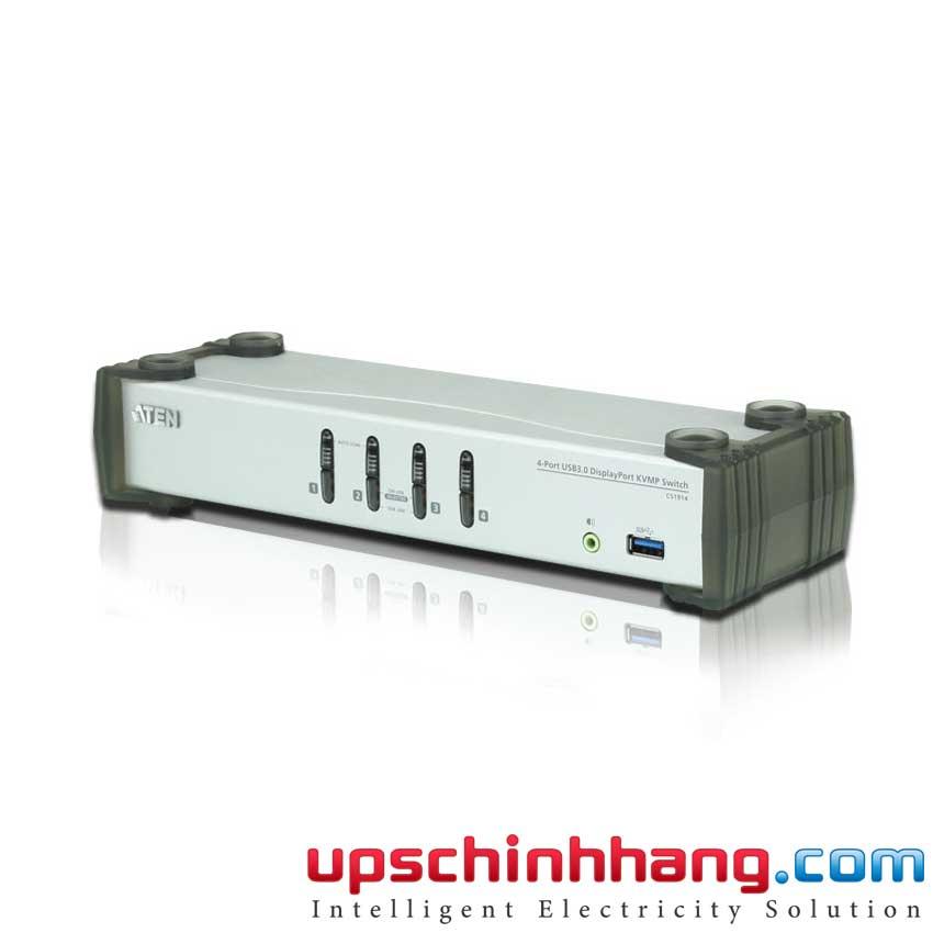 ATEN CS1914 - 4-Port USB DP/Audio KVMP/USB 3.0 Switch