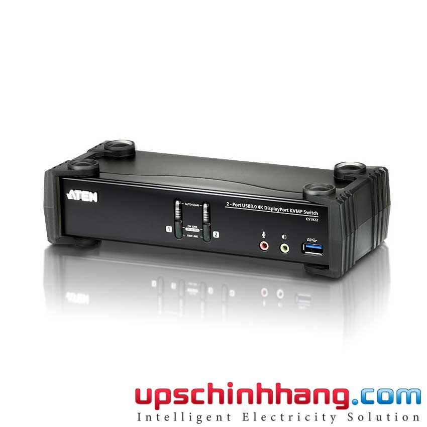 ATEN CS1922 - 2-Port USB 3.0 4K DisplayPort KVMP™ Switch