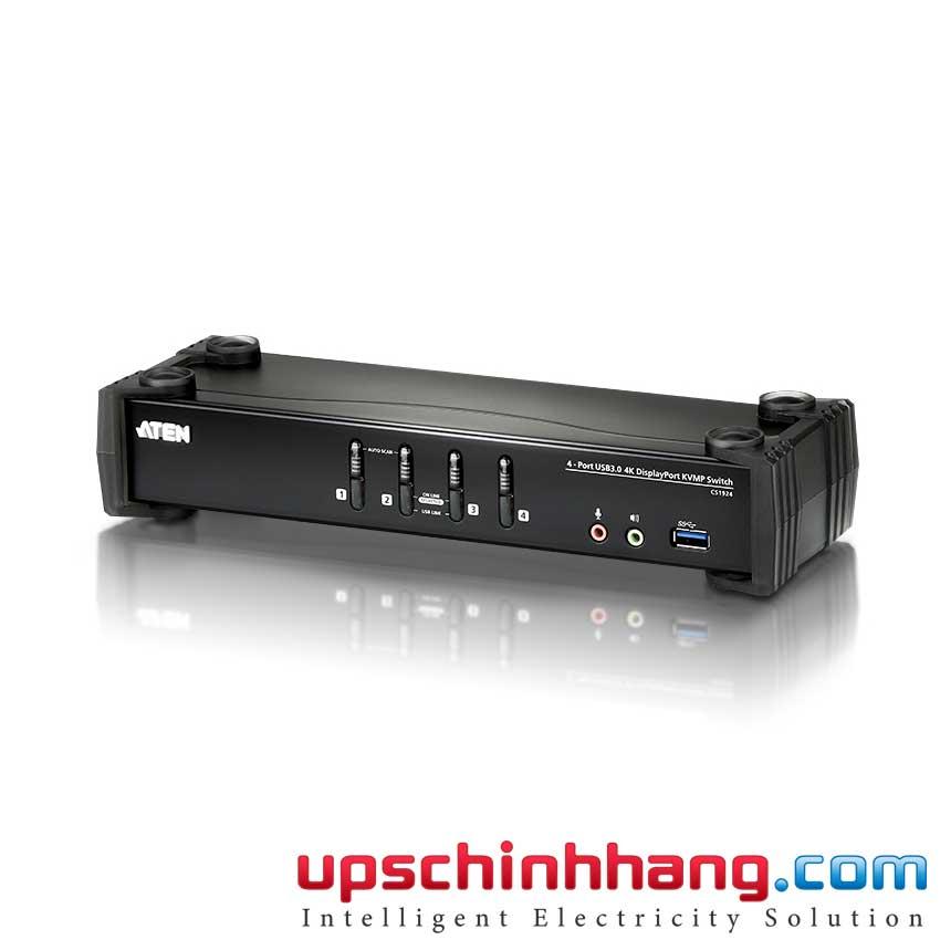 ATEN CS1924 - 4-Port USB 3.0 4K DisplayPort KVMP™ Switch