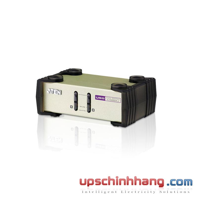 ATEN CS82U - 2-Port PS/2-USB VGA KVM Switch