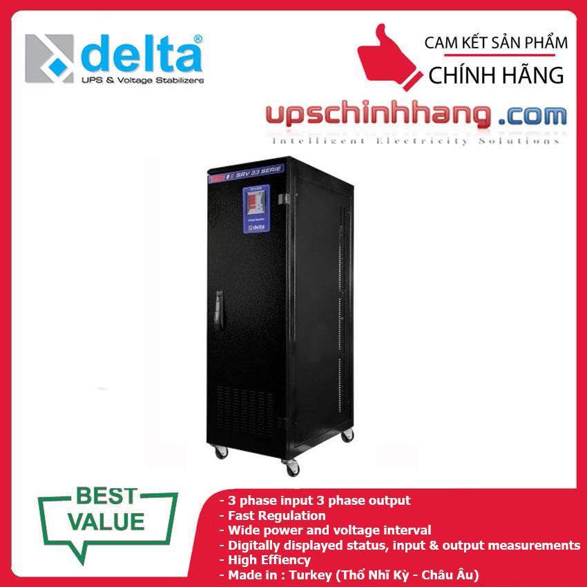 Ổn áp DELTA DLT SRV 330060 60KVA (3P/3P)