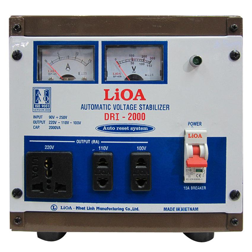 Ổn áp LIOA DRI-2000 2KVA