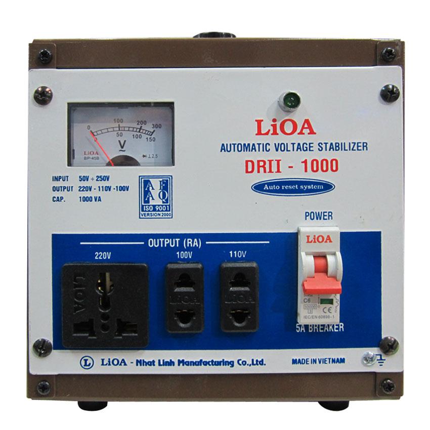 Ổn áp LIOA DRII-1000 1KVA