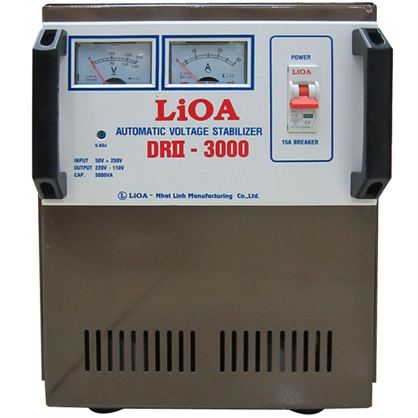 Ổn áp LIOA DRII-3000 3KVA