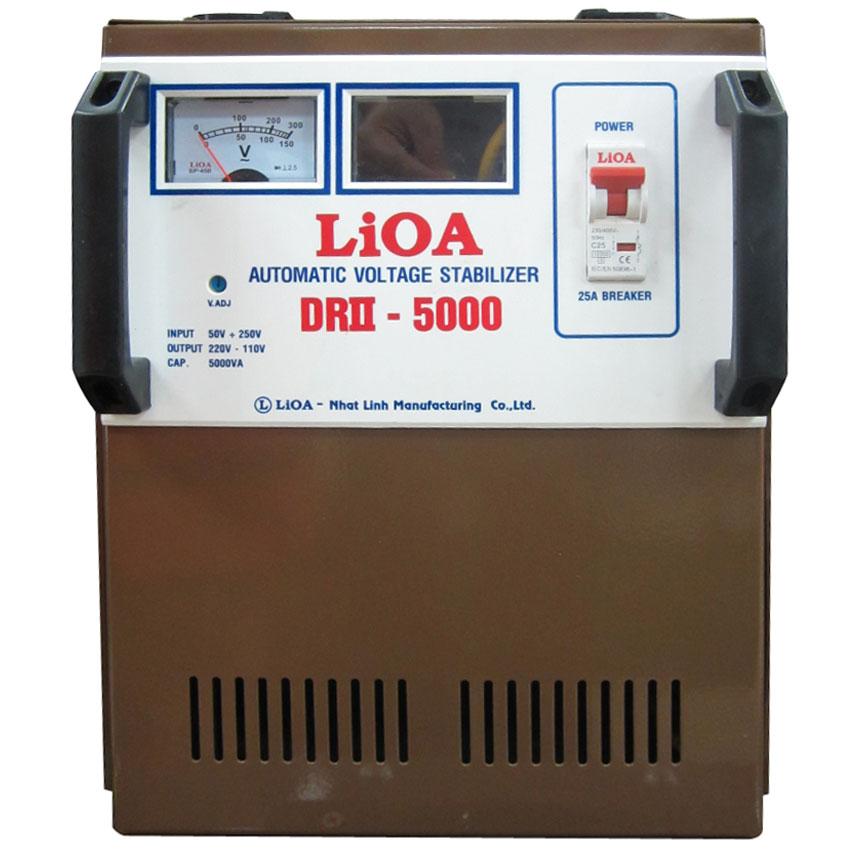 Ổn áp LIOA DRII-5000 5KVA