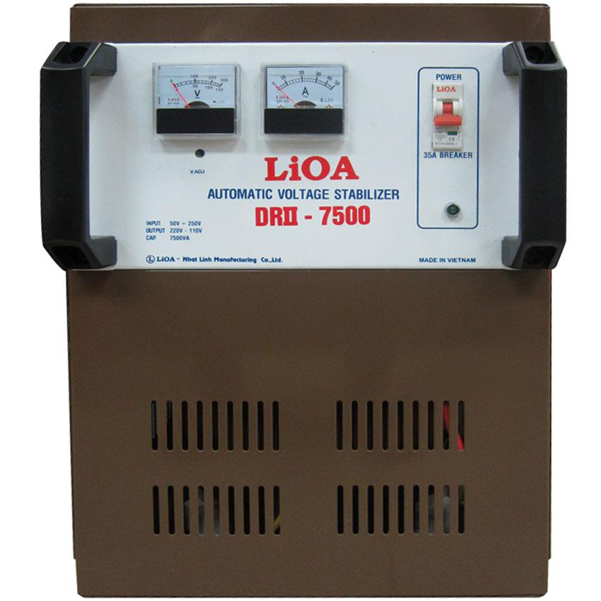 Ổn áp LIOA DRII-7500 7.5KVA