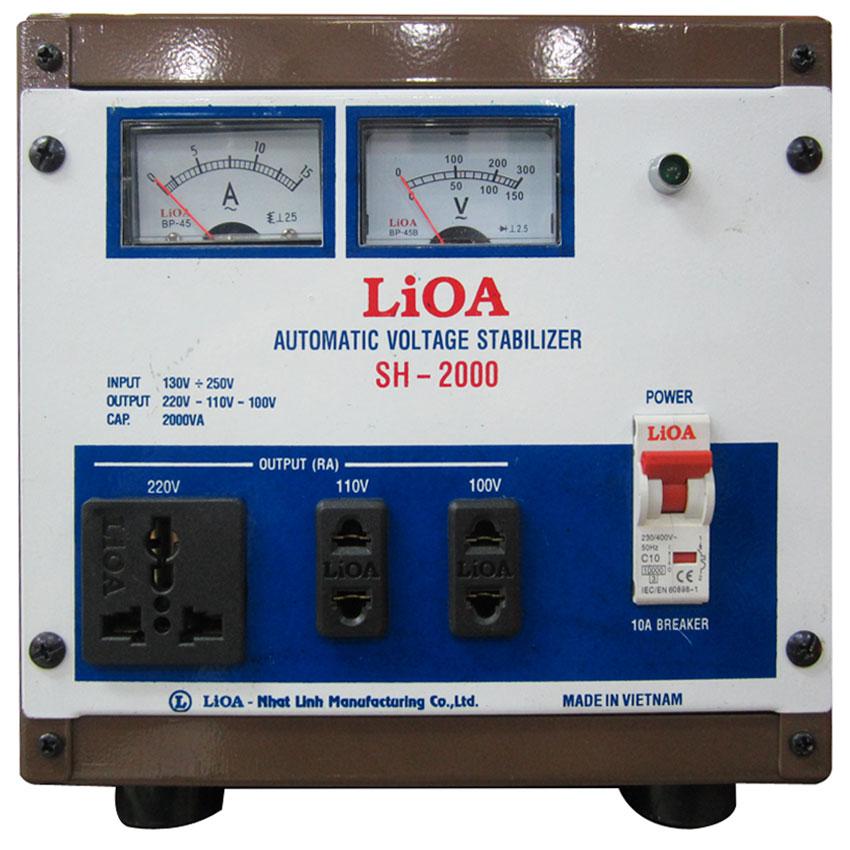 Ổn áp LIOA SH-2000 2KVA