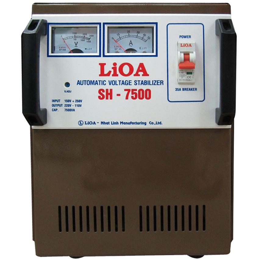 Ổn áp LIOA SH-7500 7.5KVA