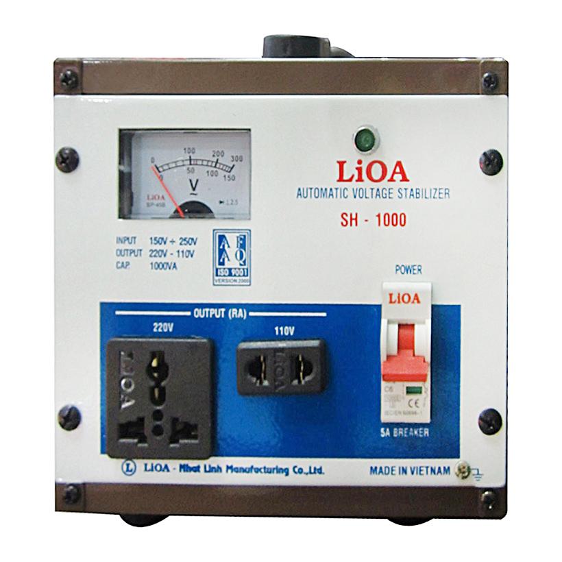 Ổn áp LIOA SH-1000 1KVA