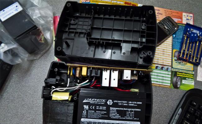 hướng dẫn sửa chữa UPS TG1000