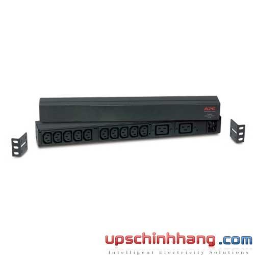 Rack PDU,Basic, 1U, 16A,208&230V, (10)C13 & (2)C19 (AP9559)